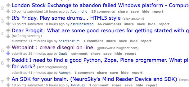 Programming Reddit colonizzato da tristi spammer italiani